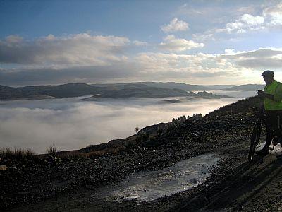 foggy loch awe